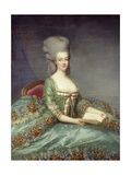 Portrait of Marie Antoinette, Queen of France - by Francois Hubert Drouais Giclee Print