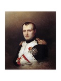 Portrait of Napoleon I by Charles Auguste Steuben Giclee Print