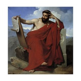 Portrait of Solon of Athens by Merry Joseph Blondel Giclee Print