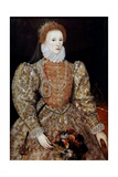 Portrait of the Queen Elizabeth I Giclee Print