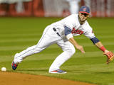 Sep 26, 2014: Cleveland, OH - Tampa Bay Rays v Cleveland Indians - Mike Aviles Photographic Print by Jason Miller