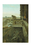 Gargoyles at Notre Dame by Winslow Homer Giclee Print