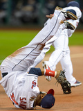 Tampa Bay Rays v Cleveland Indians Photographic Print by Jason Miller