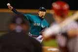 Los Angeles Angels of Anaheim v Seattle Mariners Photographic Print by Otto Greule Jr