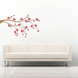 Late Bloomer Brown Wall Decal