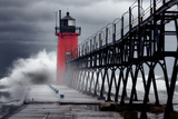 Hurricane Sandy in South Haven Reproduction photographique par Photo by John Crouch