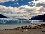Panoramic View of Glacier Perito Moreno Photographic Print by by hugo césar
