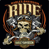 Harley Davidson Ride Bone Sign Tin Sign