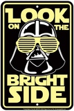 Bright Side Cartel de chapa