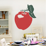 An Apple A Day Light Red Wall Decal