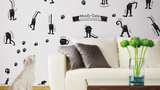 Cat Moods Wall Decal