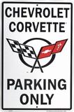 Corvette Blikskilt
