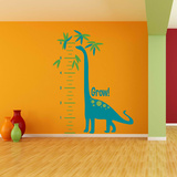 Growing Dino Measurement Wall Decal