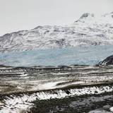 Glacier Arm in Volcanic Scenery Photographic Print by Rudi Sebastian