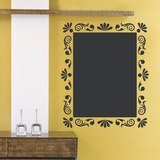 Flourish Menu Chalkboard Decal Wall Decal