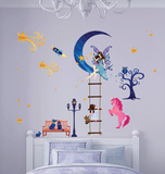 Fairy Story Glow In The Dark Wall Decal