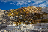 Mammoth Hot Spring Photographic Print by Benoit Cappronnier