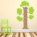 Measurement Tree Wall Decal