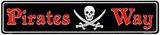 Pirate Way Plechová cedule