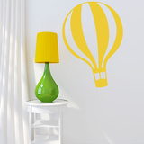 Full Of Hot Air Yellow Wall Decal