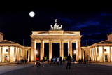 Brandenburg Gate at Night in Berlin Prints by  Gary718