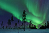 Aurora Borealis Northern Lights Sweden Photographic Print by Dave Moorhouse