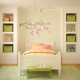 Late Bloomer Olive Wall Decal