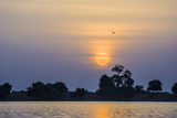 Navigation along Niger River Fotografisk tryk af Maremagnum