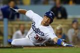 Sep 26, 2014: Los Angeles - Colorado Rockies v Los Angeles Dodgers - Darwin Barney Photographic Print by Jeff Gross