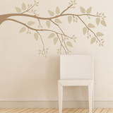 Simplicity Branch Brown Wall Decal