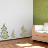 Cedar Tree Trio Olive Wall Decal
