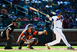 Houston Astros v New York Mets Photographic Print by Alex Goodlett