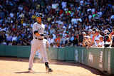 Sep 28, 2014: Boston, MA - New York Yankees v Boston Red Sox - Derek Jeter Photographic Print by Al Bello