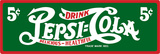 Pepsi Delicious Sign Tin Sign