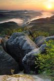 Saxon Switzerland Photographic Print by Stefan Mendelsohn