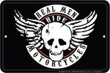 Real Men Plakietka emaliowana