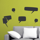What'S The Story Chalkboard Decal Wall Decal