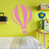 Full Of Hot Air Pink Wall Decal