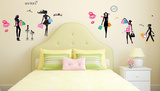 We Love Shopping Glitter Wall Decal