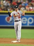 Sep 28, 2014: Phoenix, AZ - St. Louis Cardinals v Arizona Diamondbacks - Pete Kozma Photographic Print by Norm Hall