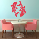 Koi Fish Red Wall Decal