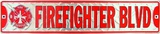 Feuerwehrmann Blechschild