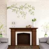 Simplicity Branch Green Wall Decal