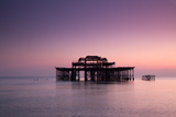 Ruins of West Pier. Photographic Print by Lucie Averill