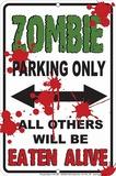 Zombie Parking Blikskilt
