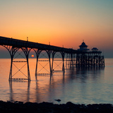 Clevedon Pier Photographic Print by Martin Turner