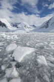 Ice at the Base of a Glacier in Wilhelmina Bay, Antarctica. Photographic Print by Mint Images - David Schultz