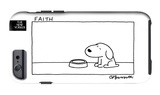 The New Yorker - Faith - iPhone 6 Case iPhone 6 Case by Charles Barsotti