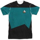 Star Trek - Science Uniform Costume Tee Shirts