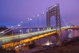 George Washington Bridge Photographic Print by Photography by Steve Kelley aka mudpig